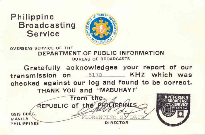 history of philippine broadcasting History as with other forms of media, radio broadcasting started in the west it was during the american period of philippine history that the first radio station was set up by the americans.